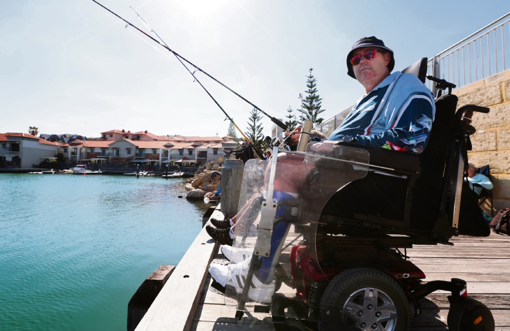 Fishability bringing the fun of the catch to people of all abilities