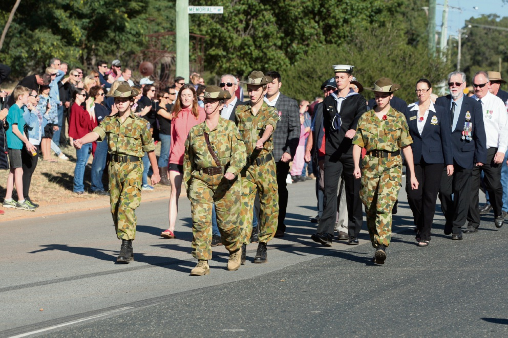 Hills residents turn out to Anzac Day services in strength