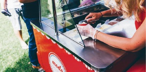 There will be free gelato up for grabs each day of the Belmont Forum party.