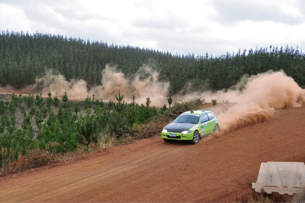 Forest Rally: Maida Vale co-driver helps female driver reign