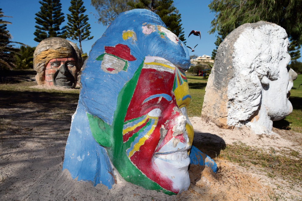 Mark Le Buse sculptures returned to Two Rocks
