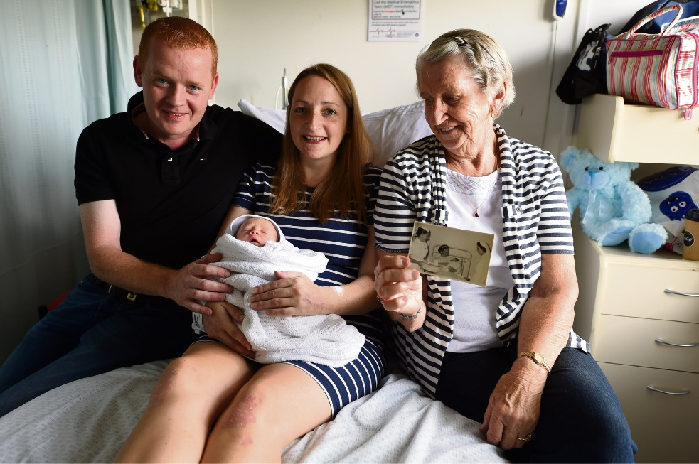 Bentley Health Services celebrates 50th anniversary of first birth at hospital