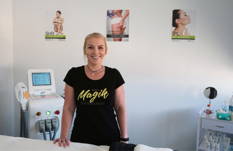 Body Magik owner Sarah Fraser.d468111