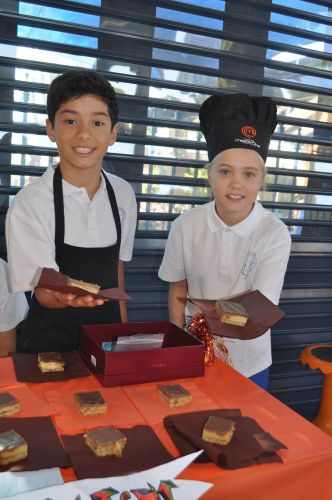 St Benedict's students raise money for Inka Respite through sweet sale