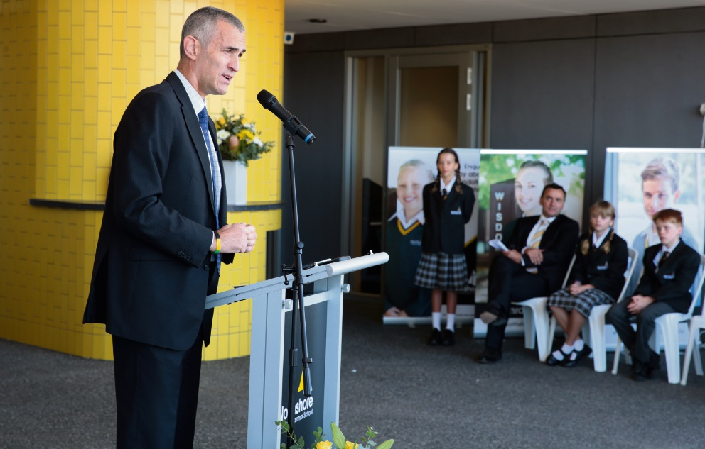 Northshore Christian Grammar School welcomes guests for official opening