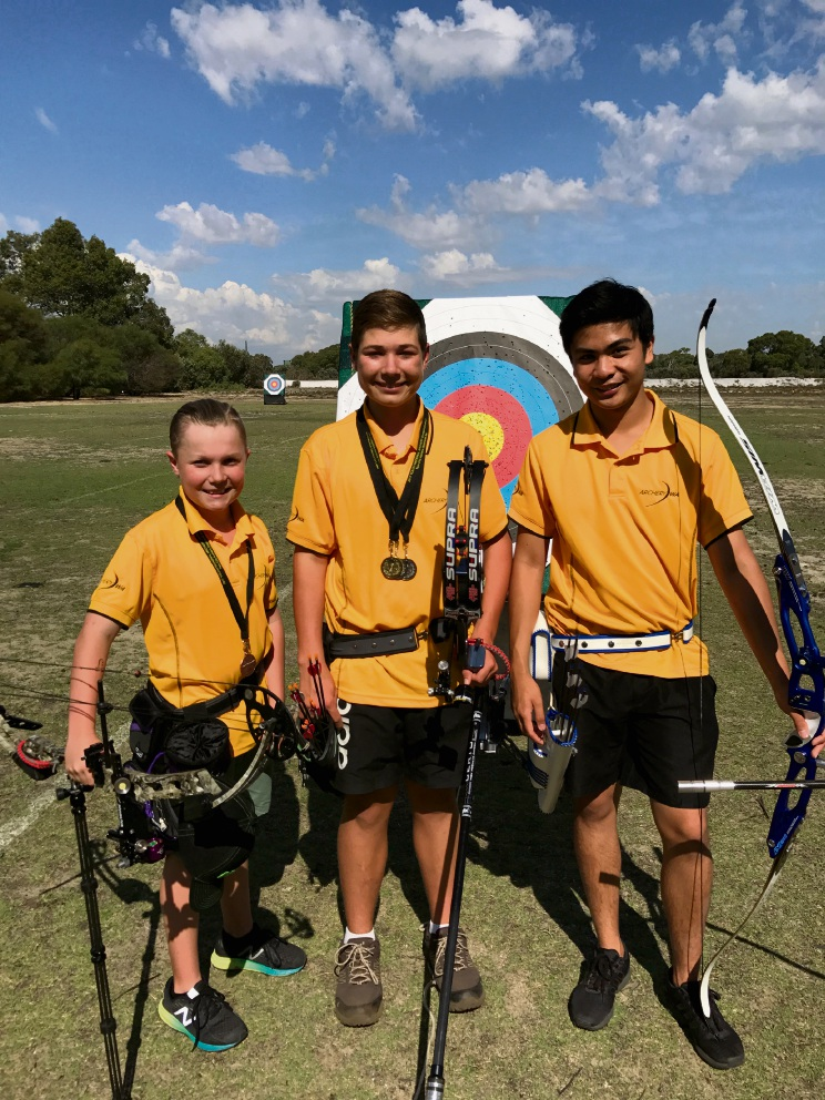 Lewis Bower (12), Danie-Louis Oosthuizen (14) and Jeremy Garcia (18).