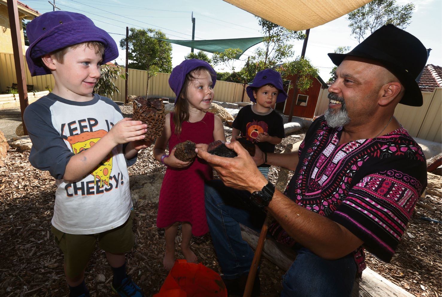 Littler Learners in White Gum Valley get a taste of indigenous culture