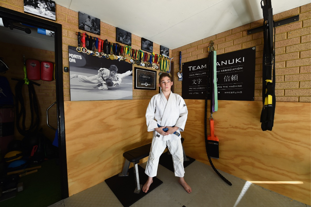 Young judo star keeping his Olympic dream in sight