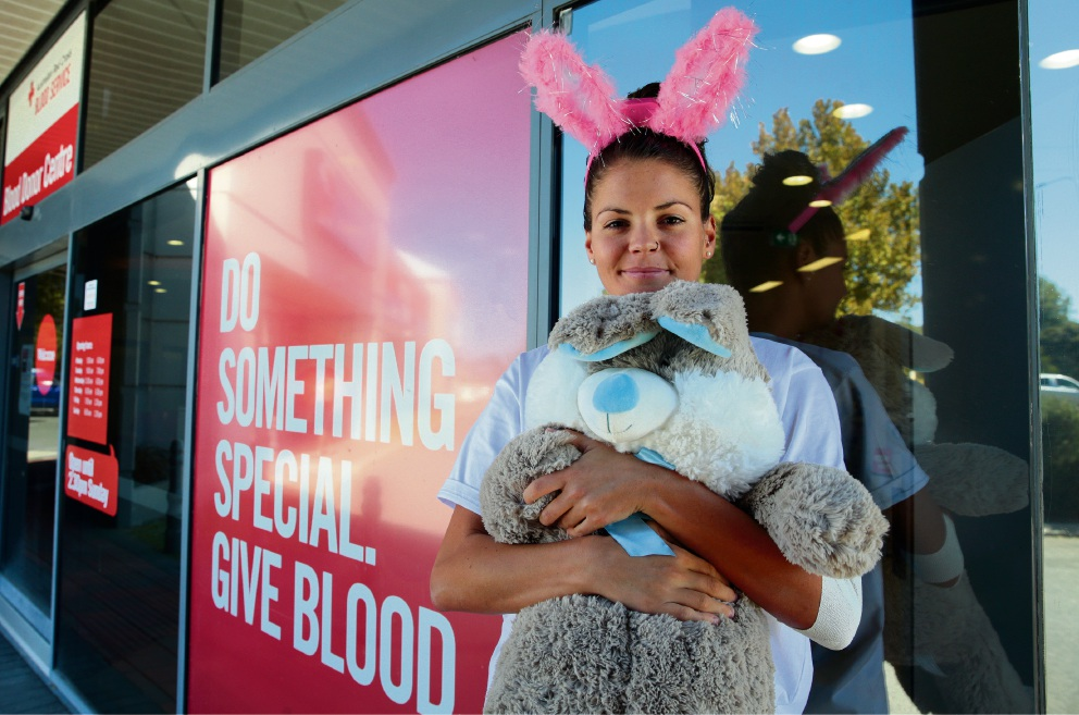 Hunt on for Easter blood donors