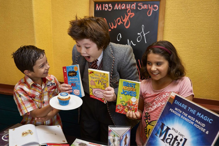 Miss Maud teams up with Matilda the Musical to spread the joy of reading
