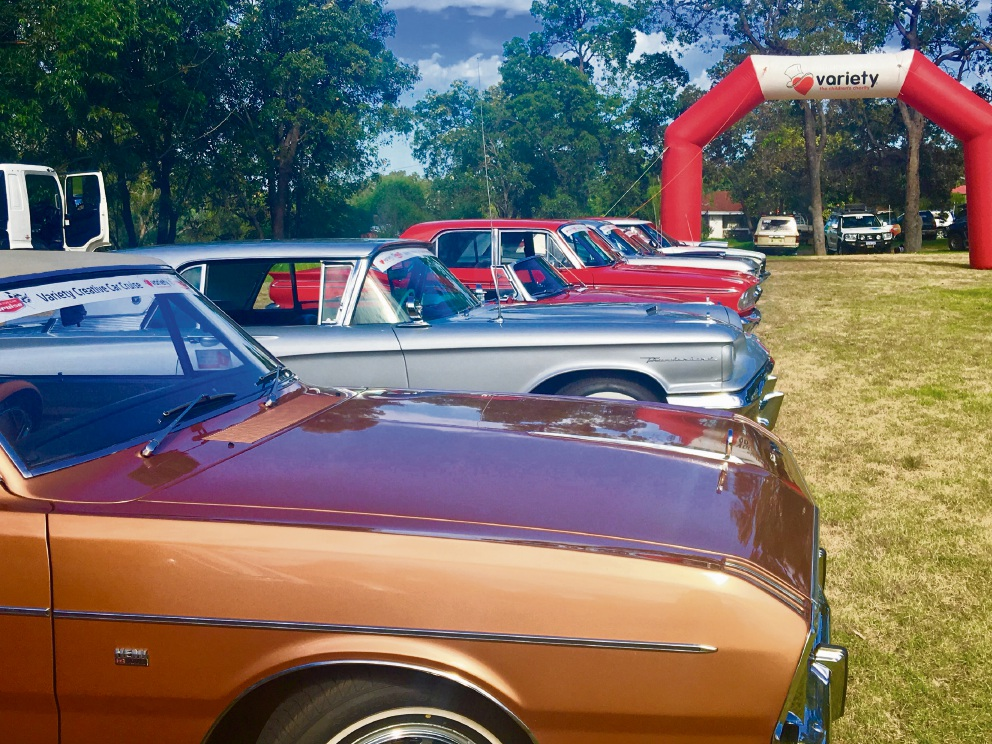 Variety Creative Car Cruise raises $170k