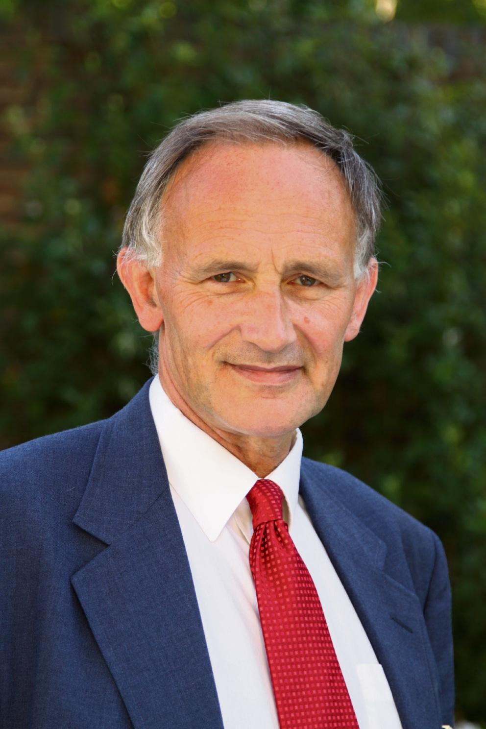University of Cambridge Regius Professor of Divinity Emeritus David Ford.