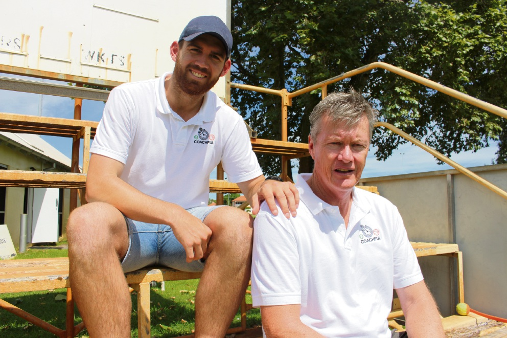 Coachful: WA cricketer Duffield teams up with former English Test player to create coaching directory