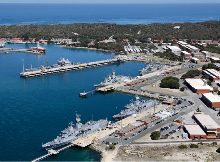 Warships gather at HMAS Stirling ready to take part in Exercise Ocean Explorer.