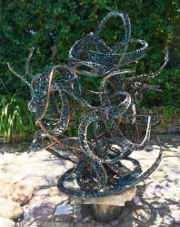 Heavy metal sculpture stolen from Karrinyup in September yet to turn up
