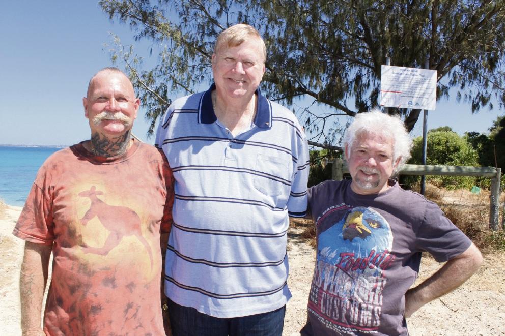 Owen Farmer, Michael Kiernan and Jonathan Shapiera are hoping to establish the Catalpa Foundation to provide accommodation for homeless people in Rockingham and Kwinana.