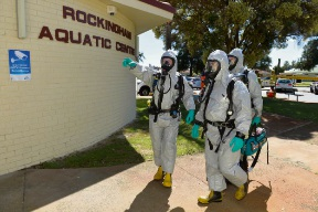 Rockingham Aquatic Centre evacuation drill keeps staff on their toes
