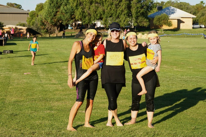 Yidarra Catholic PS mums get tough for Mother's Day