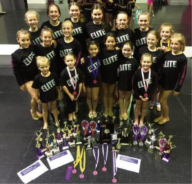 The Elite Dance Company team had great success at the Bayswater Dance Festival.