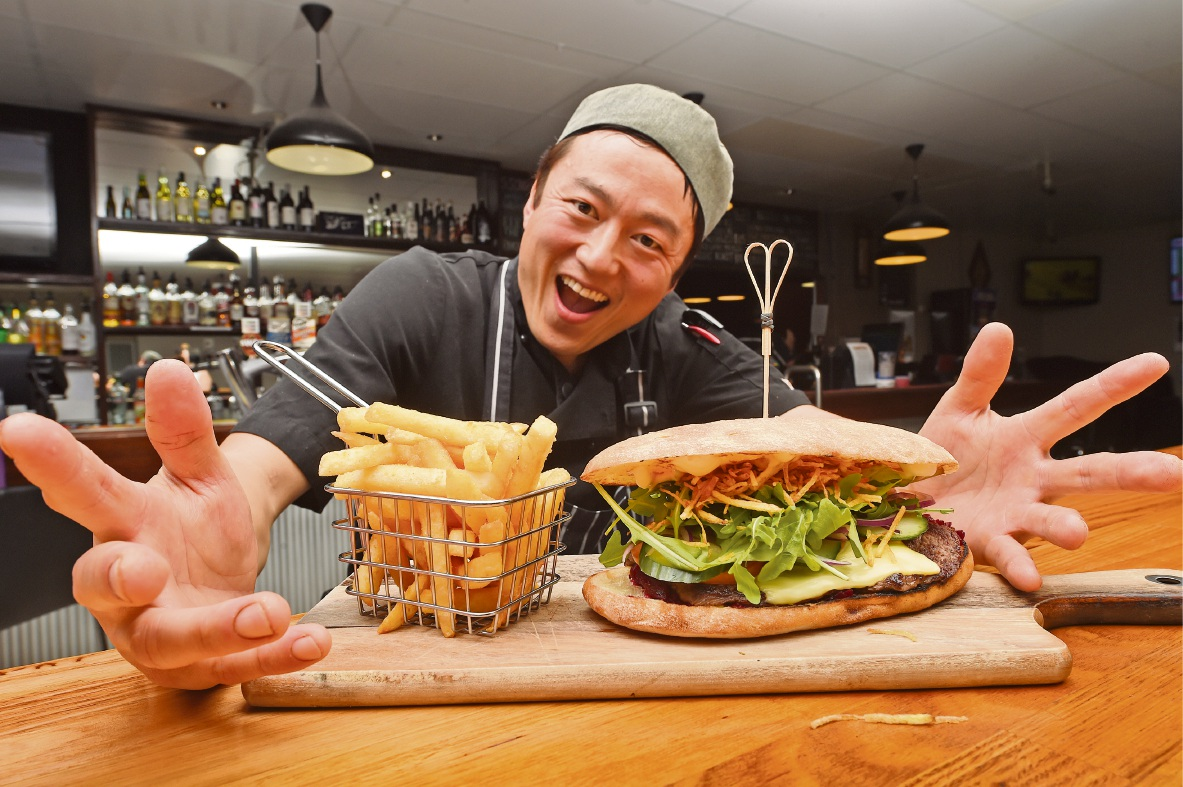 Bouvard Tavern chef playing for high stakes in sandwich competition