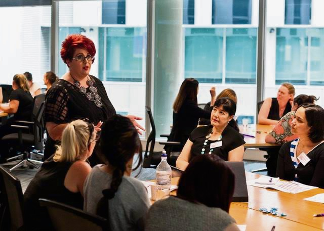 Mentor Sharron Attwood from Brand Etiquette shares her experience.