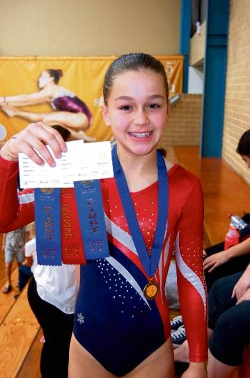 Fremantle PCYC gymnast Jaynie Kinnell prepares for national stage