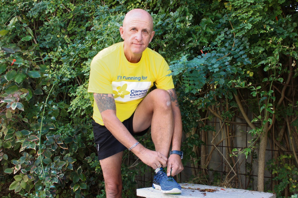 Booragoon man to take part in 12km HBF Run for a Reason