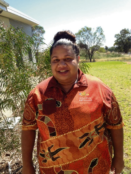 Aboriginal and Torres Strait Islander mental health worker Agnes Lockyer.