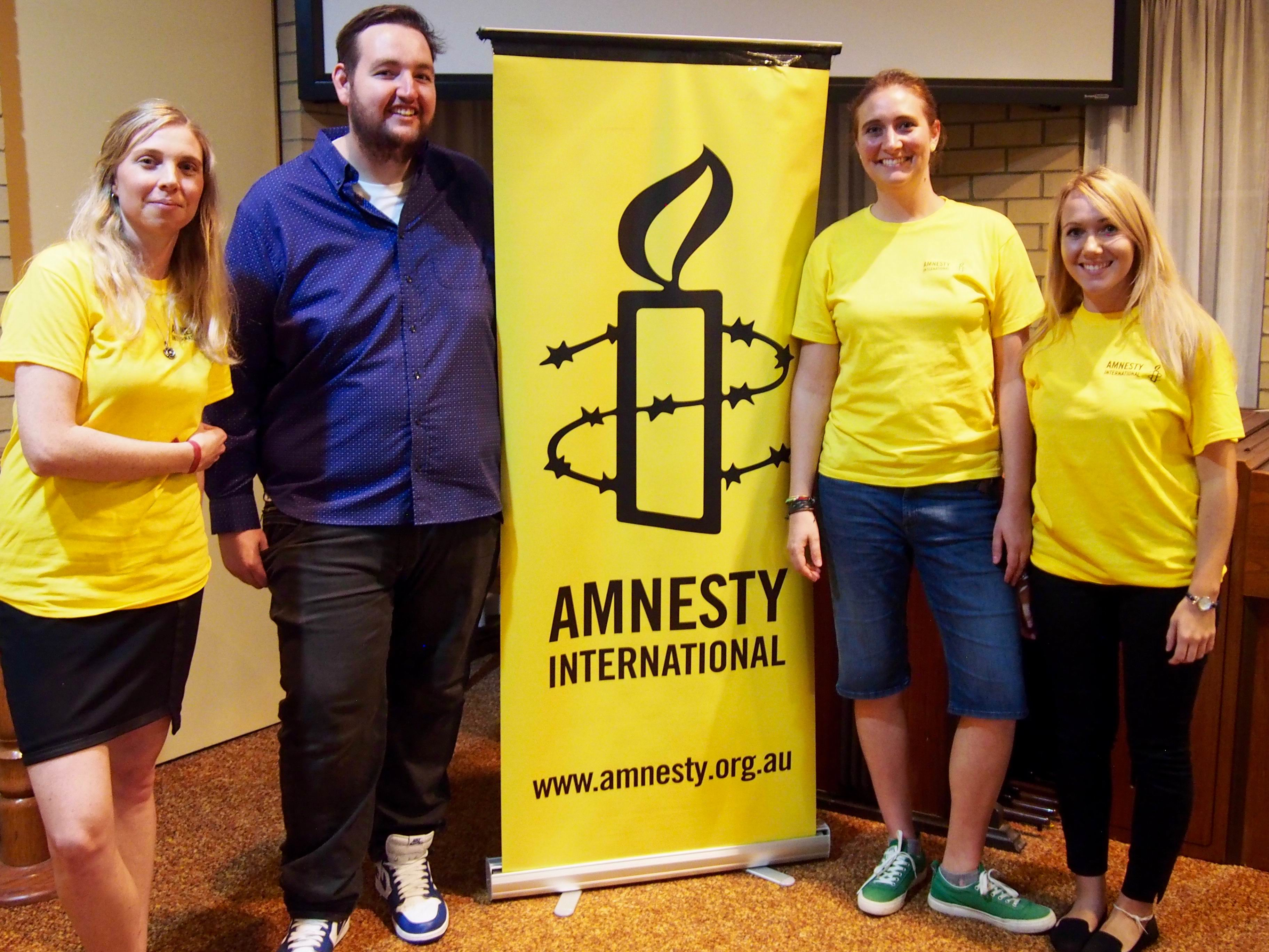 Refugees share tales at Scarborough Amnesty forum