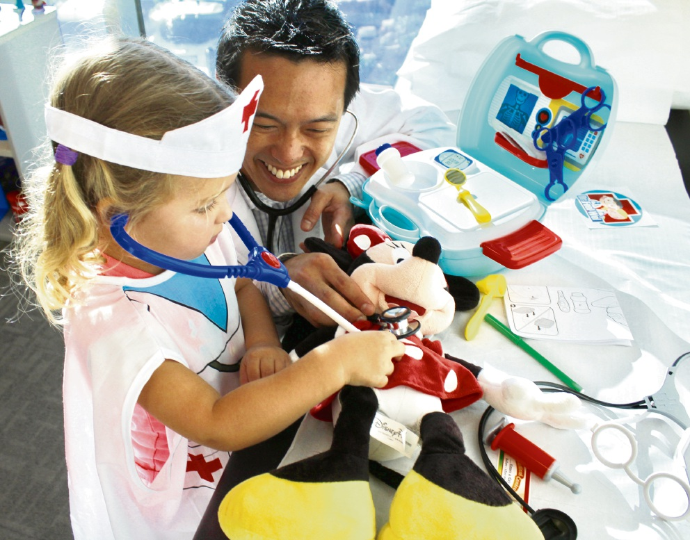 Queensgate Medical Centre's teddy bear hospital event for Starlight Foundation a success