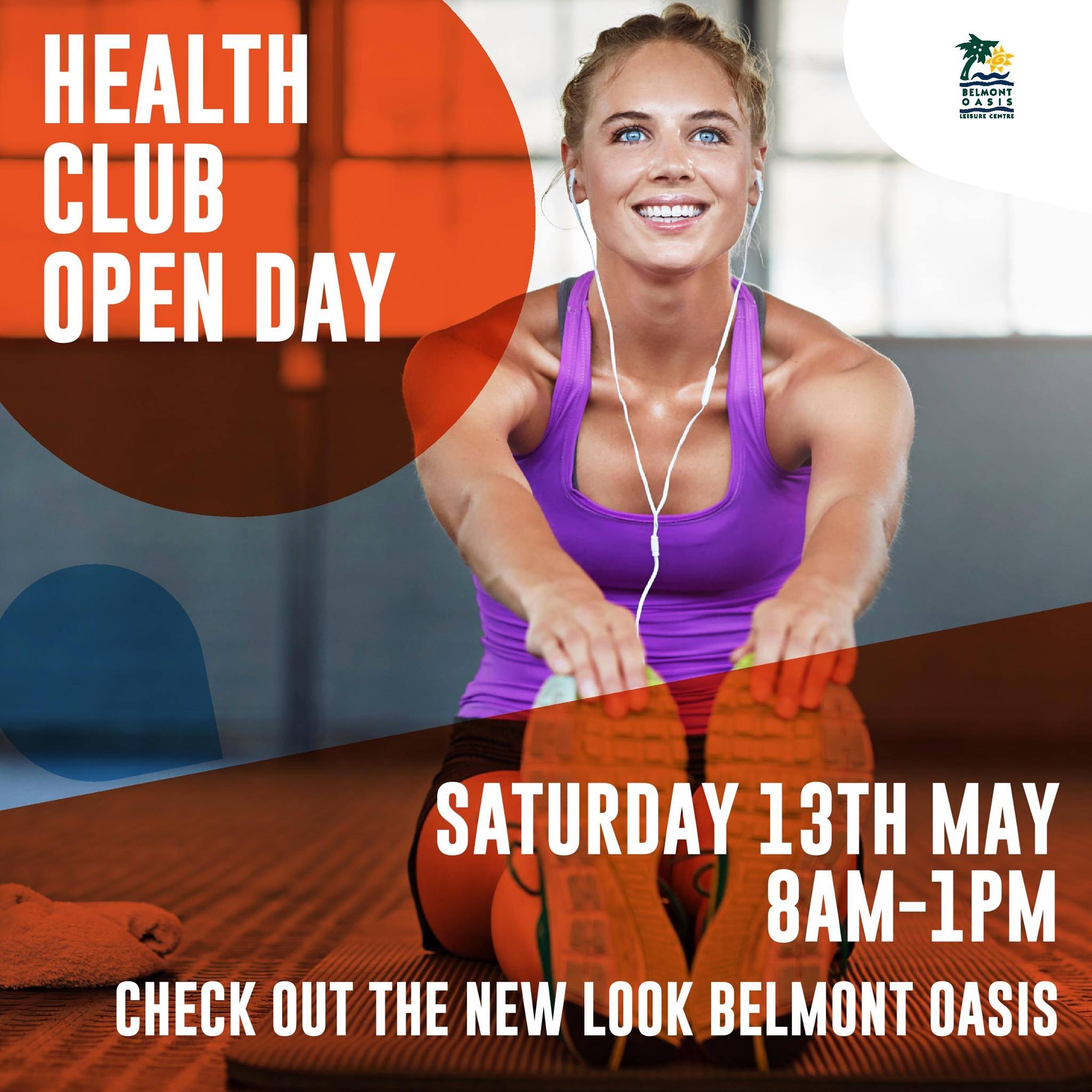 Belmont Oasis Leisure Centre Open Day