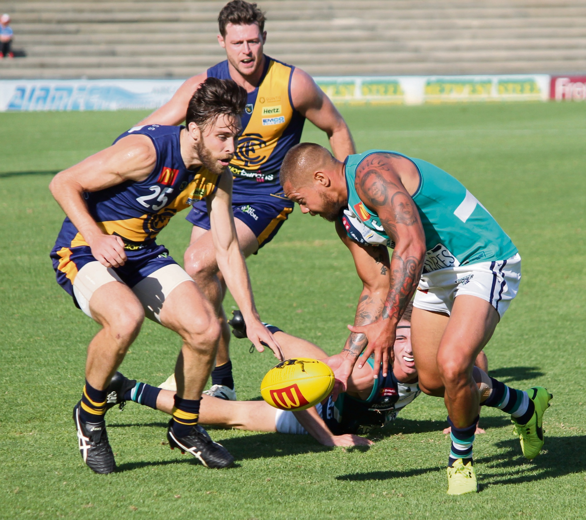WAFL: Thunder coach credits win to fast start against Claremont