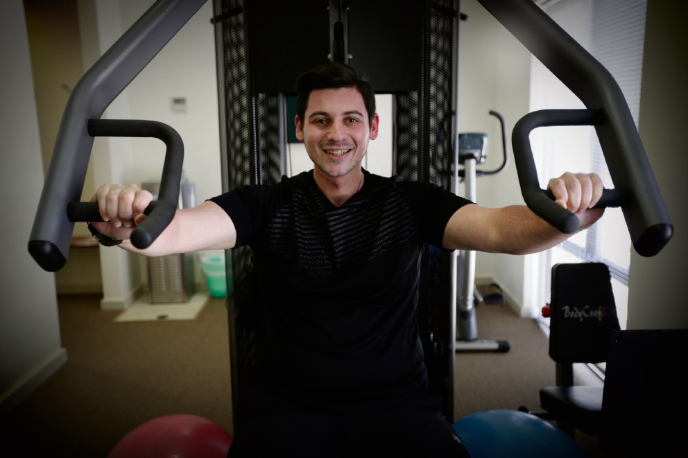Noranda resident Jono Cohen is now a mentor for the Life Now exercise program. Picture: Andrew Ritchie