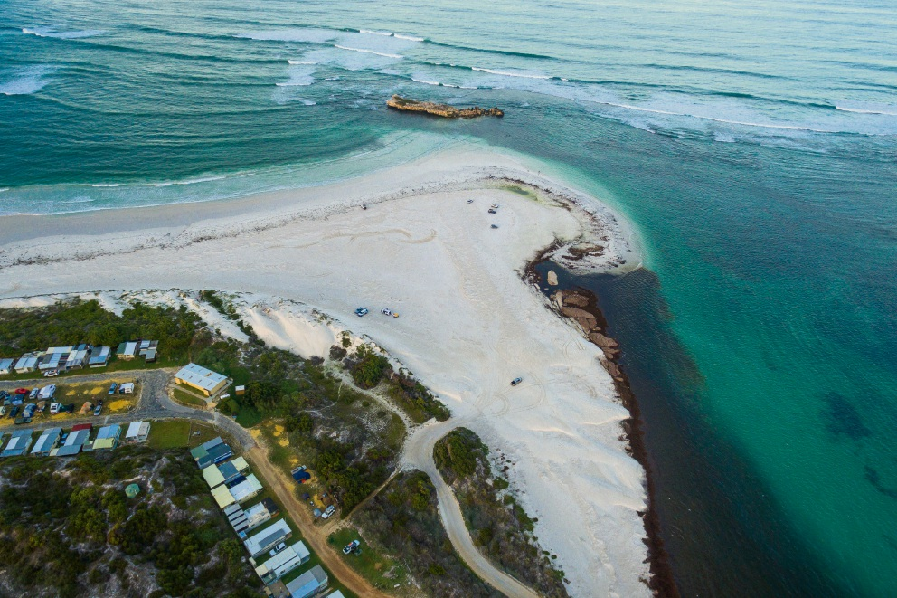 The Shire of Gingin will consider redevelopment proposals for Lancelin Caravan Park in April. Picture: KymIllman.com
