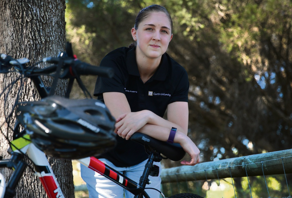 Students get on their bikes to help charity