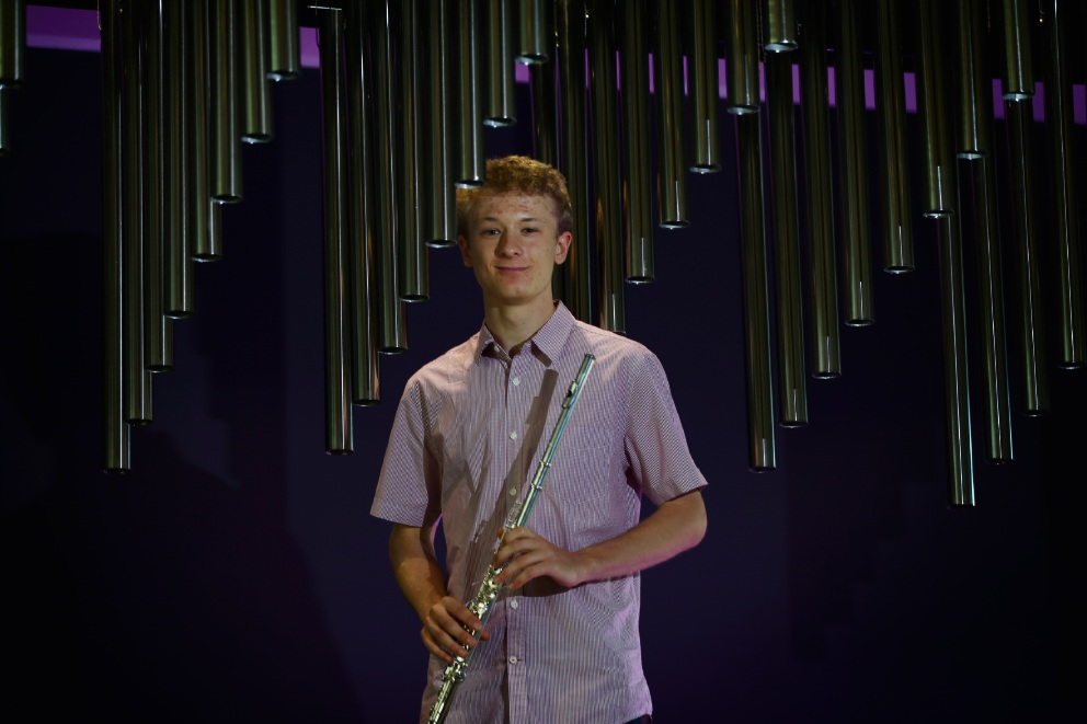 Hale School leaver Peter Havlat has accepted a prestigious music scholarship at the Royal Academy of Music in London and is the only 2016 WACE graduate to achieve this special honour. Picture: Andrew Ritchie