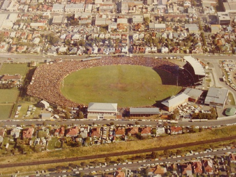 Subiaco Oval in 1975. Picture: WA Football Commission