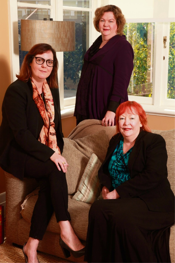 Andrea Hall, Moira Watson and Barbara Powell are responsible for the merger.