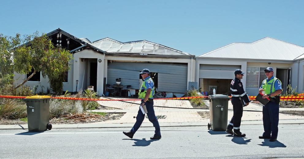 Arson squad investigating house fire in Zamia Rise Yanchep