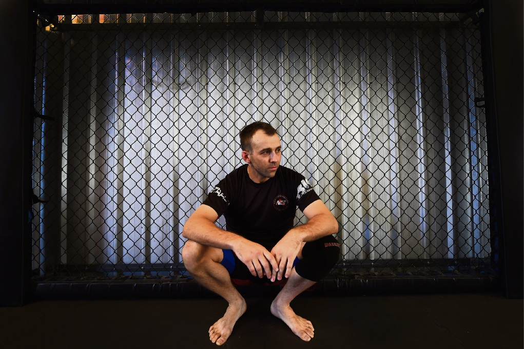 Mandurah MMA head coach Marcus McKeever and Ultimate Fighter coach Jimmy Harbison speak out against state's cage fighting ban