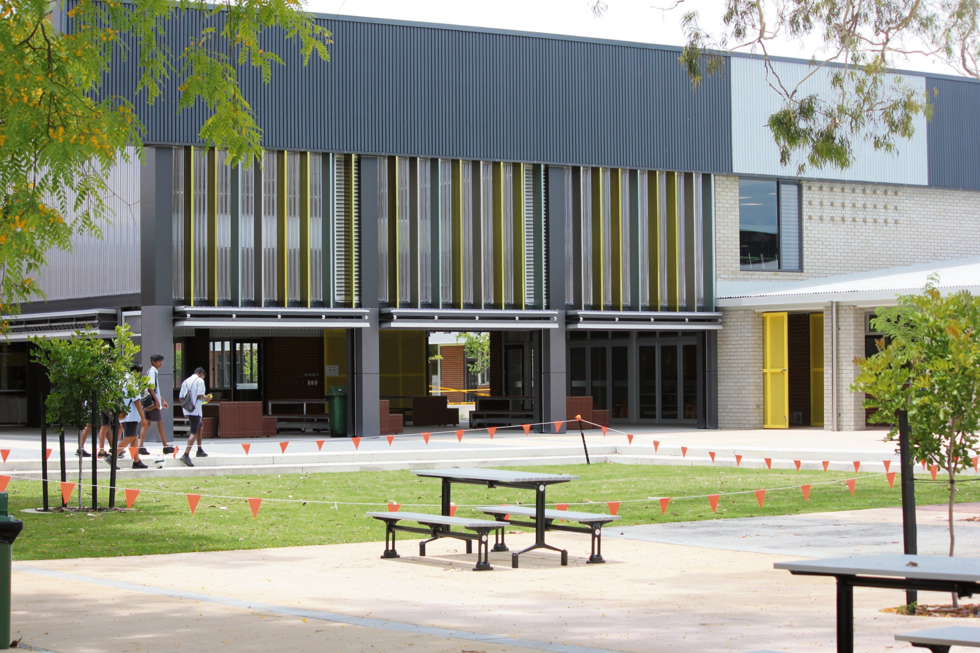 Willetton Senior High School at stage two of its capital works program.