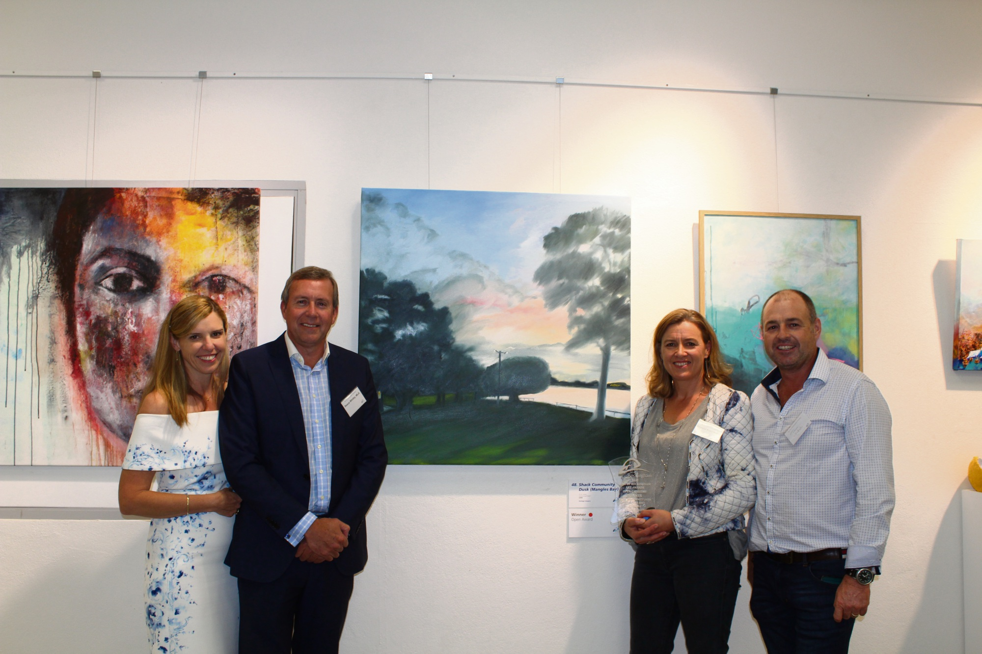 Painting of Mangles Bay landscape wins City of Rockingham Art Awards