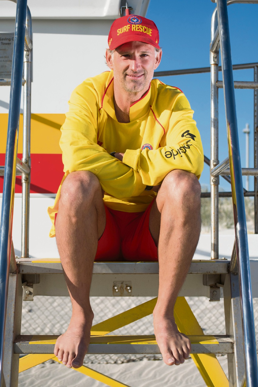 Craig Gamble has received a Surf Life Saving Australia meritorious award.