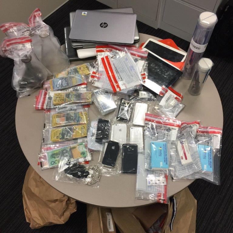 East Perth: police search of Hay St apartment turns up drugs and stolen goods