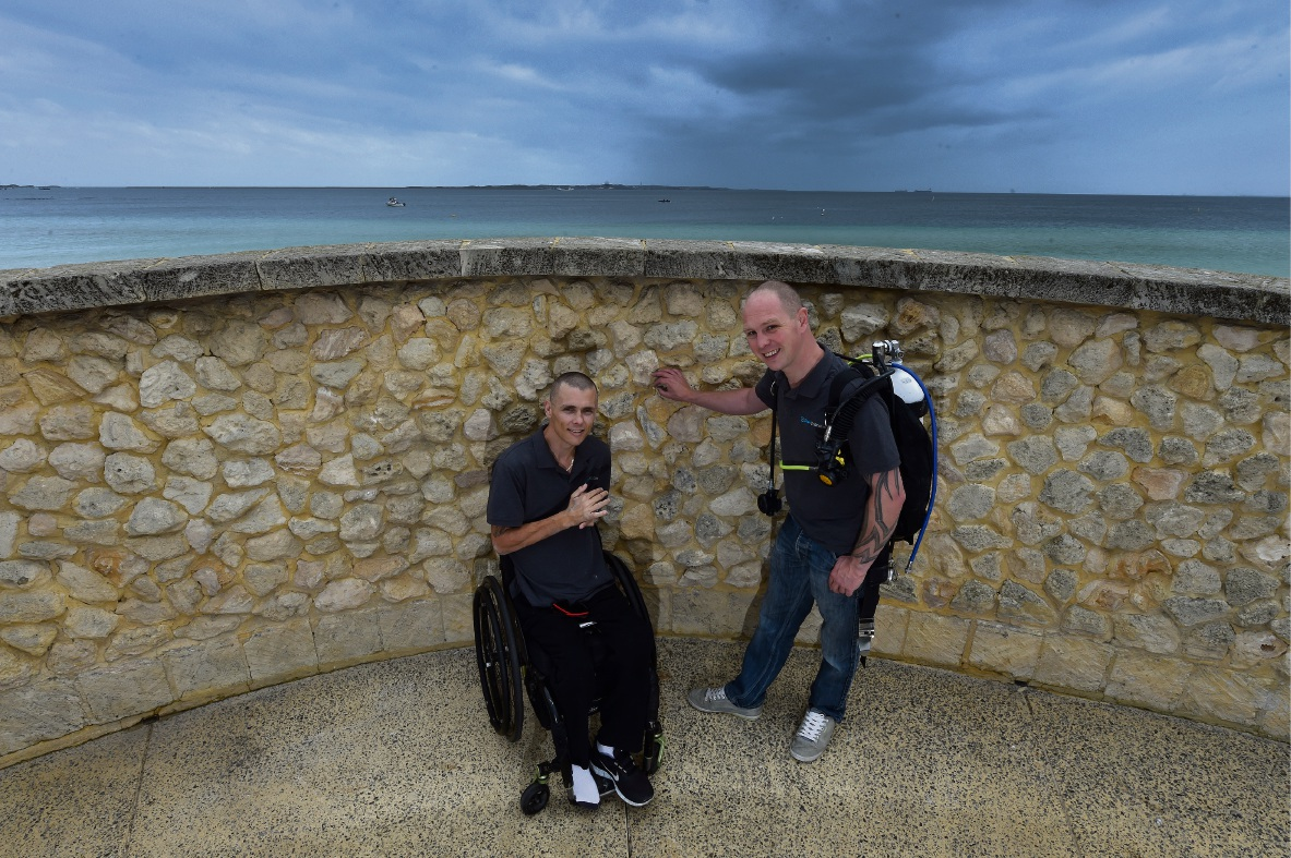 Wellard resident helping people living with disability dive right in