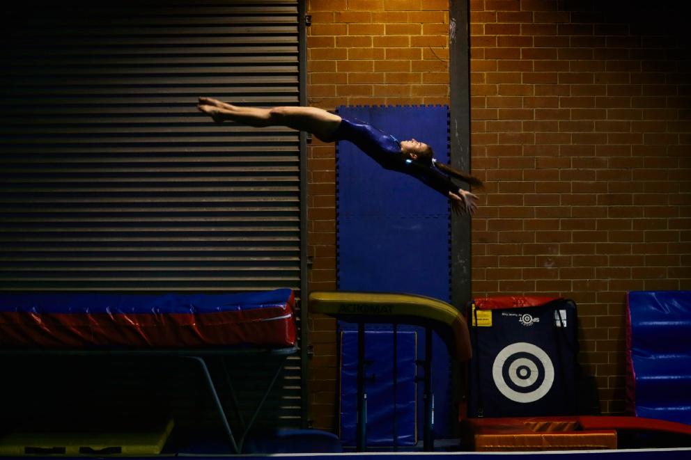 Noranda gymnast O'Brien makes WA team for eighth time