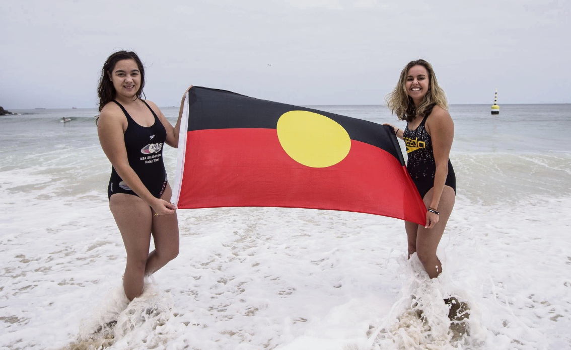 Brianna Ozies (left) and Shelley Cable. Ozies is the first recipient of a UWA Indigenous scholarship.