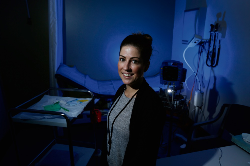 Amy Wallace, WA Nurse of Year 2017. Picture: Andrew Ritchie