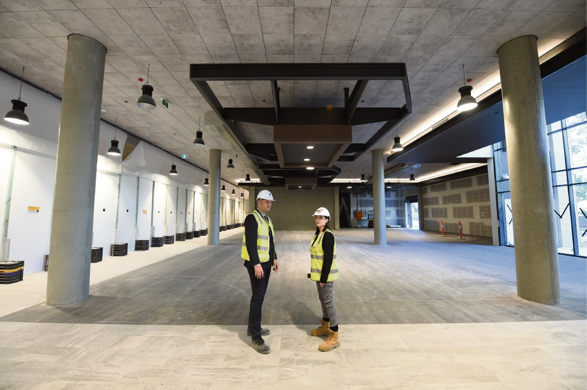 Mandurah Forum redevelopment moving at fast pace
