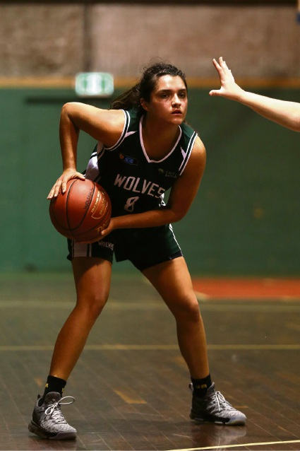 Chelsea Belcher. Picture: Michael Farnell, sportsimagery.com.au